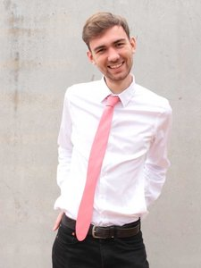 Necktie Smart Pink Pulse